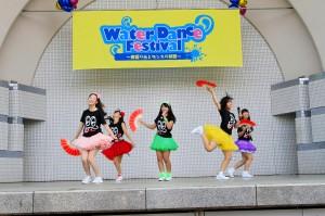 Water Dance Fes 2013.8.14 ステージの様子